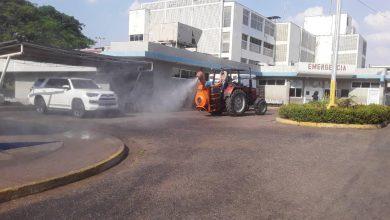 Photo of Realizaron desinfección en centros de salud y comando militares