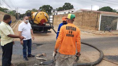 Photo of Activan equipo técnico para trabajos de aguas servidas en El Tigre