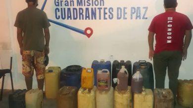 Photo of Polianzoátegui capturó a dos sujetos por tráfico de combustible en Barcelona
