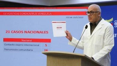 Photo of Venezuela elevó a 131 su pico diario de contagio por coronavirus