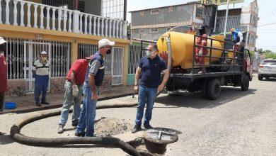 Photo of Cuadrillas de alcaldía tigrense continúan labores de agua servidas