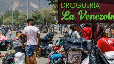 Photo of Migrantes venezolanos están varados en campamento de Bogotá por la pandemia