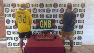 Photo of GNB capturó a dos integrantes del GEDO «El Perú» en El Callao estado Bolívar