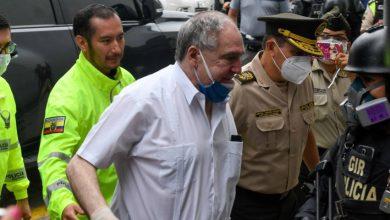 Photo of Detenido expresidente de Ecuador Abdalá Bucaram por caso de delincuencia organizada