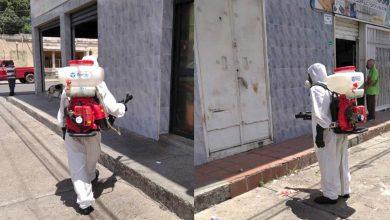 Photo of PC El Tigre continúa realizando la desinfección de espacios públicos