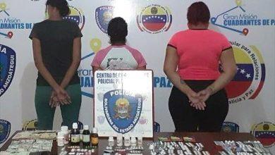 Photo of Polianzoátegui capturó a tres mujeres por venta de medicamentos vencidos