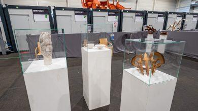 Photo of Instalan exposición de arte en centro de vacunación en Alemania